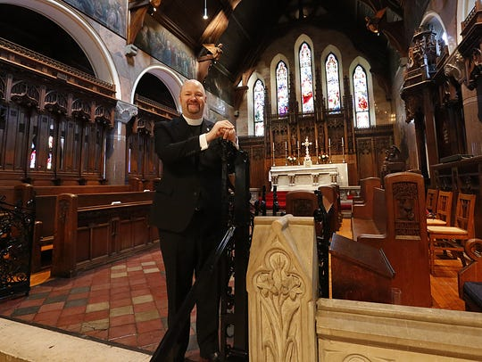 Rev. C. Patrick Perkins of St. Paul's Cathedral in