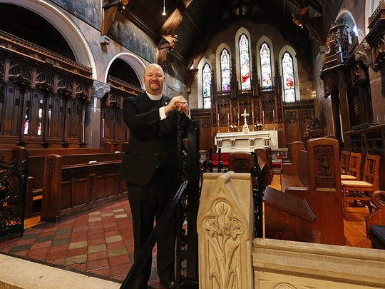 Rev. C. Patrick Perkins of St. Paul's Cathedral in Fond du Lac.