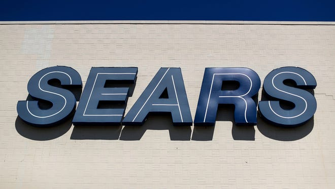 Sears stock rose 5.1%, or 16 cents, to close at $3.29 per share Wednesday.   John Minchillo/AP File photo taken in 2017 shows a Sears sign outside the retailer's department store at the Tri-County Mall, in Springdale, Ohio.