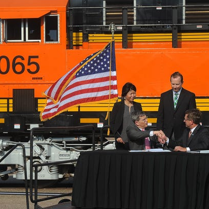 BNSF Railway's executive vice president Roger Nober