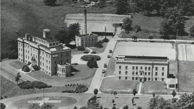 The Memorial Hospital, built in 1918.