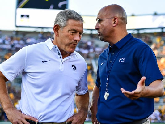NCAA Football: Penn State at Iowa