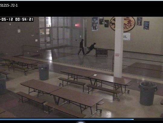 Scottsdale police said surveillance footage captured