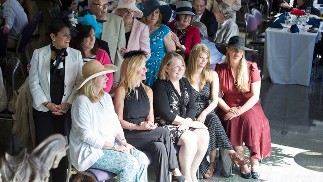 The 13th annual Kentucky Derby celebration sponsored by the Asbury Park Press and Ray Catena Auto Group takes place at Monmouth Park. The Monmouth Park Charity Fund hosts the event that benefits local charities.Oceanport, NJ Saturday, May 7, 2016@DhoodHood