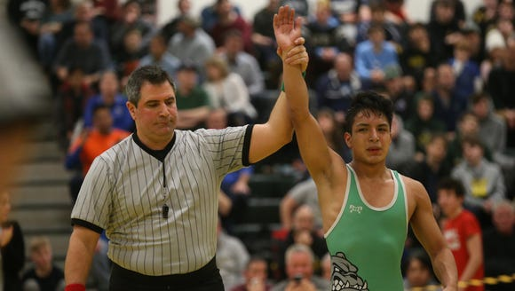 Irvington's Joel Andrade defeats Pleasantville's Aiden