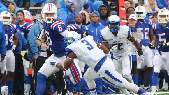 Middle Tenn @ LATechFB held at Joe Aillet Stadium,