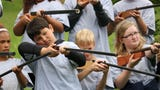 Kohler Elementary hosts Oostburg Elementary, Sheboygan Falls Elementary, Jefferson and Jackson Elementary Schools in Manitowoc, as well as reenactors such as Angels in the Battlefield and Cushing's Battery, for its annual Civil War reenactment.