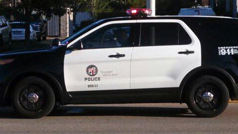 Tupelo Police Dept. cruiser