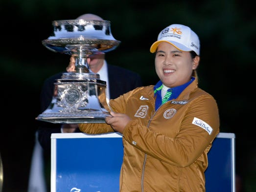 Inbee Park successfully defended her title at the Wegmans LPGA Championship at Monroe Golf Club in Pittsford, N.Y. In capturing her second consecutive LPGA Championship, Park won her fifth career major title and fourth in the past two seasons.