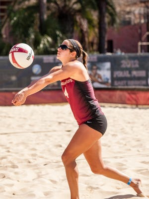 Stephanie Pellitteri was a four-year player (2012-15) and a team captain on Florida State's beach volleyball team.
