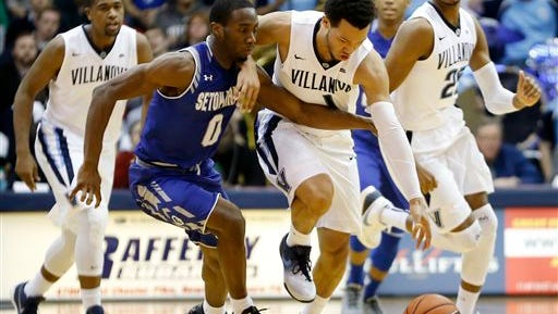 Villanova will be ranked in the top five when the Cats visit Seton Hall Wednesday.