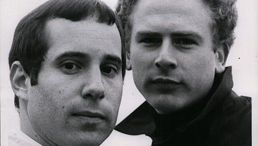 Simon and Garfunkel in 1969.