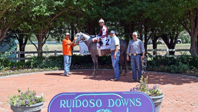 A Revenant ran down Paint My Pilot in the finals few strides to win the Grade 1, $1,000,000 Rainbow Futurity on Sunday at Ruidoso Downs and place A Revenant on the short list of favorites to the Grade 1, $3,000,000 All American Futurity on Labor Day.