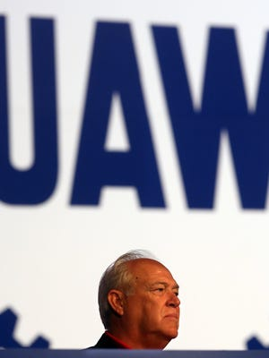 Dennis Williams, who was elected president of the UAW earlier this month.