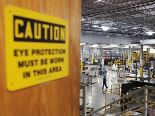 The Northland CAPS (Center for Advanced Professional Studies) engineering and advanced manufacturing students open their classroom door to the manufacturing floor.