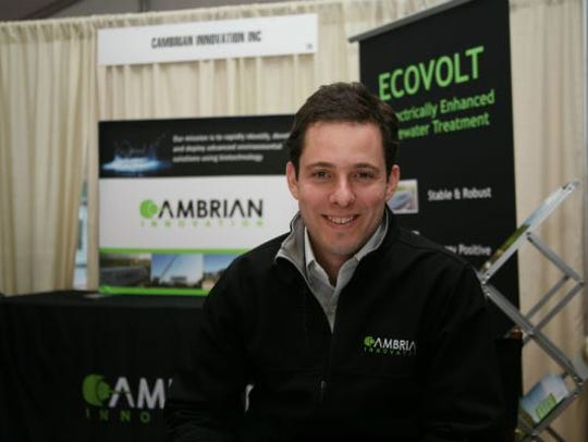 Matthew Silver, CEO of Cambrian Innovation, uses microbes