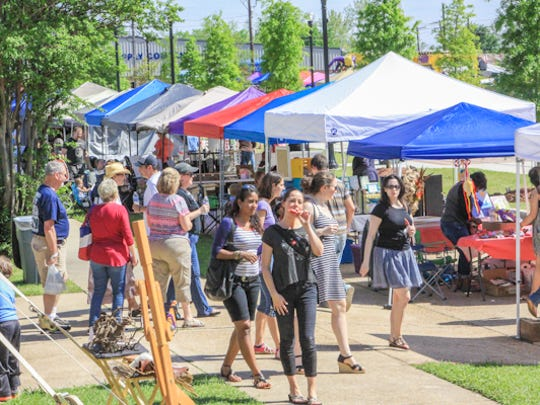 Thousands head to Shreveport Common, a new, developing cultural arts neighborhood in downtown Shreveport for The Big Scene. The annual event is a collaborative series presented by Texas Avenue Makers Fair, UNSCENE! and Holiday in Dixie. Festival-goers with craft vendors, community mural, food trucks, live music, street performers, a parade and more.