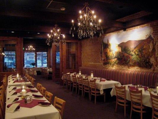 Romantic dinner at Bisetti's