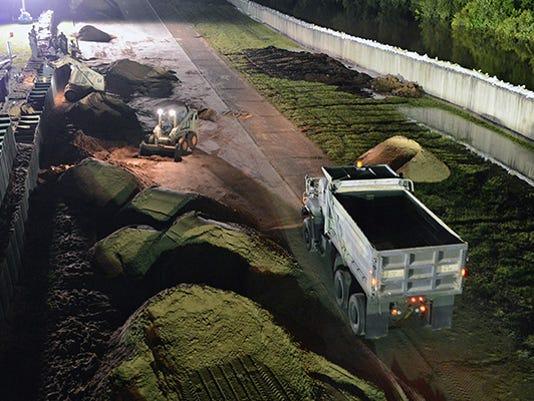 La. National Guard works around clock to combat flooding