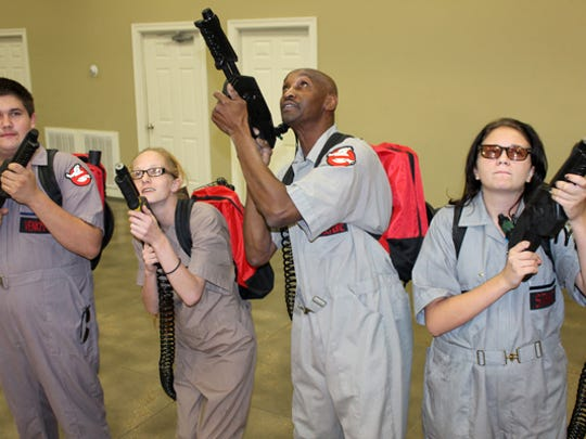 The Ghostbusters will in full force during the Family Fun Show in Bastrop.