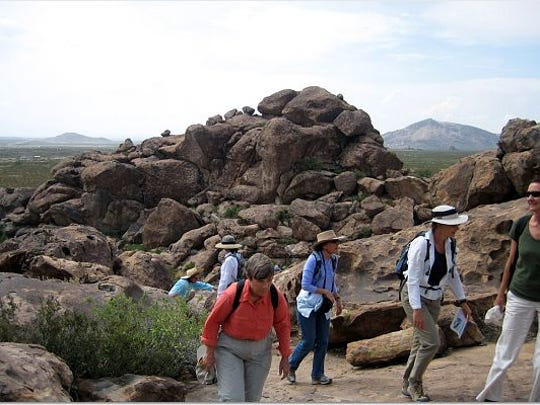 Texans are encouraged to take advantage of the natural beauty of Hueco Tanks State  Park and Historic Site in El Paso with a hike on Friday.