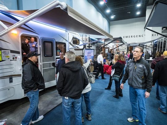 The Cincinnati Travel, Sports and Boat Show also has