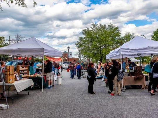Greer's Farmer's Market kicked off farmers' market season over 30 vendors, live music, and children's activities. Thursday April 7, 2016