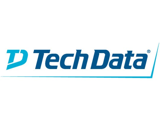 The logo for Tech Data Corp., of Clearwater, Fla.