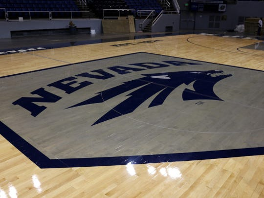 The Wolf Pack's new basketball court has the state