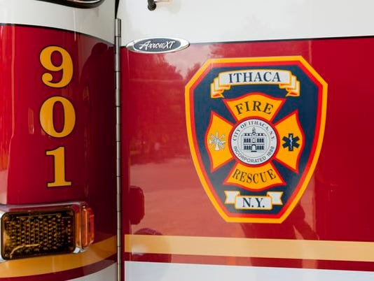 ITH Ithaca Fire Department logo