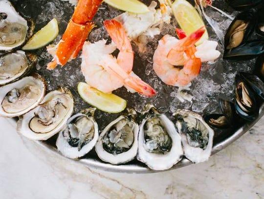 Plateaux de Fruits de Mer is one of the specialties