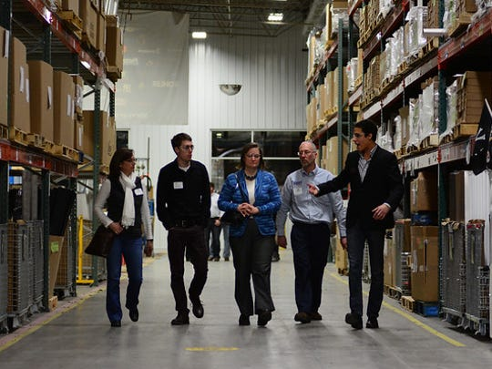 Plant tour at Orion Energy Systems, Inc.