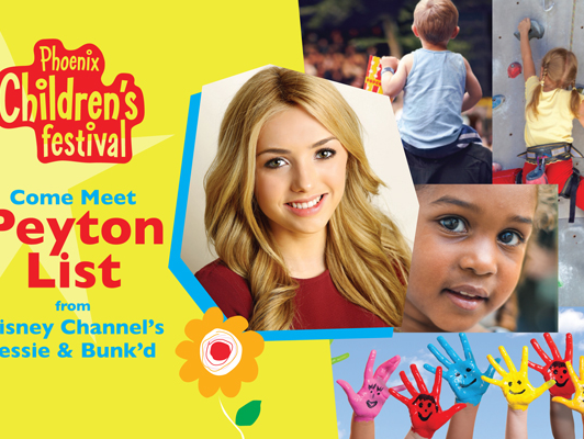 Buy a family 4 pack & get a meet & greet with Disney Channel's Jessie and Bunk'd star Peyton List!