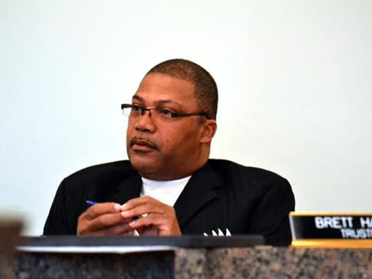 Brett Harris, former New Haven Village Trustee.