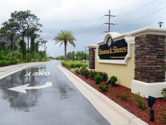 Homes in the new Hammock Shores development in Palm Shores is just one of many examples of the increase in property values in the county.