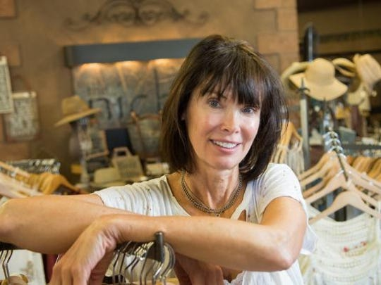 Jamie Kuckenmeister, owner of Niche Boutique poses for a portrait in her Reno store. In addition to the Plumb Lane location, Kuckenmeister has shops in Truckee and Superior, Colorado.