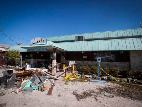 Snapper's on Key Largo will rebuild. It was no question