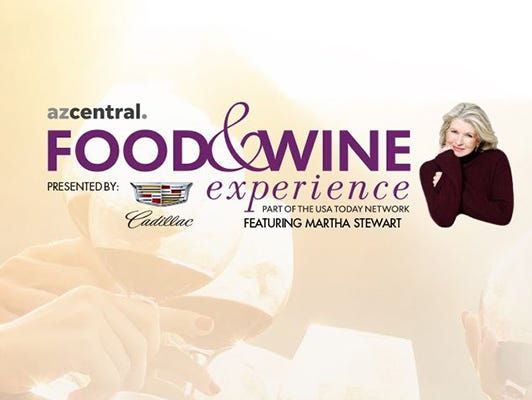 Get 25% off Meet Martha Stewart tickets at the azcentral Food and Wine Experience November 4th! Save NOW!