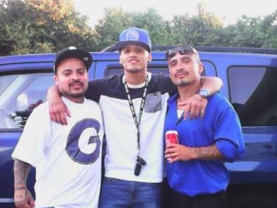 Andrew Ramon (left), 32, was killed in a stabbing attack