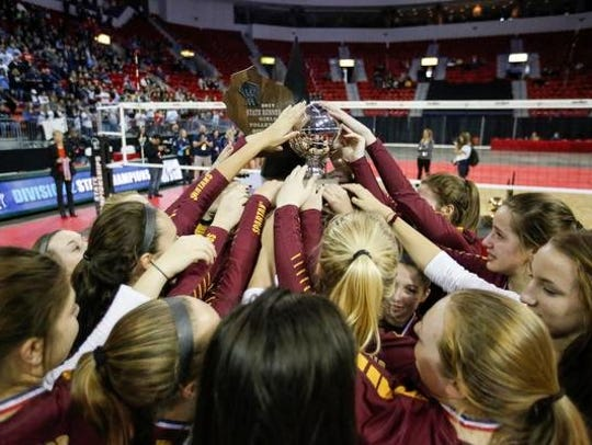 Luxemburg-Casco holds up its second place WIAA Division