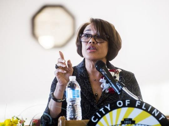 Former Flint Mayor Karen Weaver