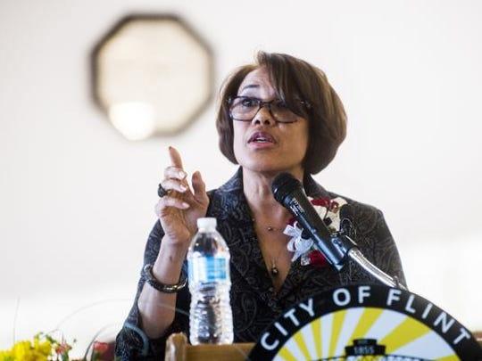 Flint Mayor Karen Weaver.