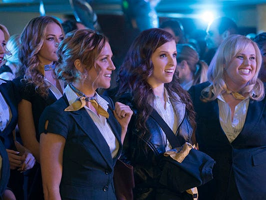 Now out in the real world where it takes more than a cappella to get by, the Bellas return. Enter to win tickets 11/20-12/13