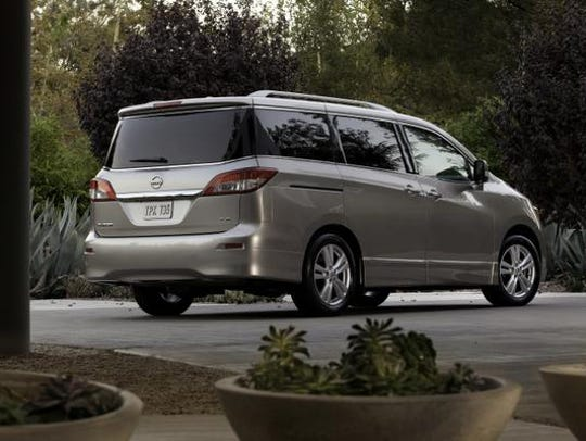 Nissan Quest. This oddly styled minivan never caught