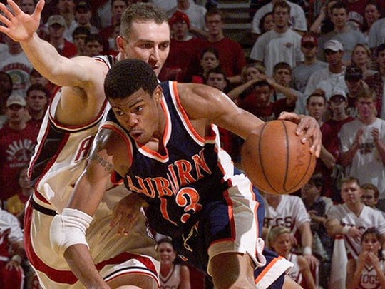 Bryant Smith (with ball) finished his college career at Auburn an SEC champion.