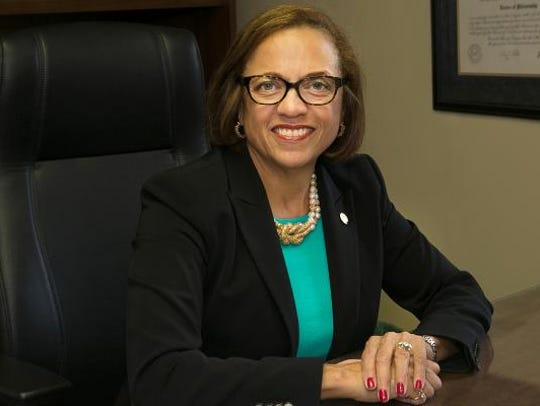 York College President Pamela Gunter-Smith
