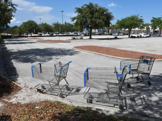 The parking lot of the Cocoa Walmart. Pastor Tommy
