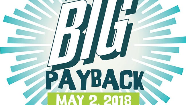 The Big Payback coming up May 2, 2018.