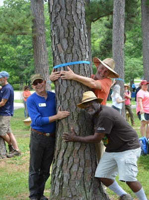 Tree huggers at the Bernheim Arboretum and Research Forest