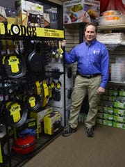 Frank Pavia, owner of Country Clean Paper Supply, is shown at the company's Ocean Twp. location.